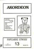 Ok�adka: Wi�niewski Stanis�aw, Akordeon (z serii Bia�y Mi�) 13