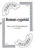 Okładka: Romans cygański, Serce, serce! Czemu płaczesz?