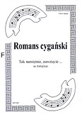 Okładka: Romans cygański, Tak namiętnie, zawzięcie pragnąłem dziś szczęścia