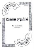 Okładka: Romans cygański, Nie pozwól mi