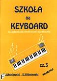 Okładka: Wiśniewski, Szkoła na keyboard z.3