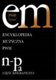 Ok�adka: , Encyklopedia muzyczna PWM t.7 NOPa