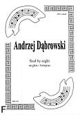 Ok�adka: D�browski Andrzej, Sza� by night