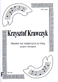 Ok�adka: Krawczyk Krzysztof, Ostatni raz zata�czysz ze mn�