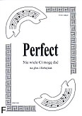 Okładka: Perfect, Niewiele ci mogę dać