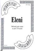 Okładka: Eleni, Miłość jak wino