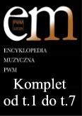 Okładka: , Encyklopedia - komplet (tomy od 1 do 7 plus dwa suplementy)
