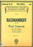 Ok�adka: Rachmaninow Sergiusz, Koncert fortepianowy nr 3 d-moll, op. 30