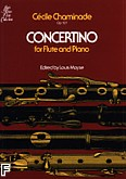 Okładka: Chaminade Cecile, Concertino, Op. 107 (Flute / Piano)