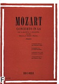 Ok�adka: Mozart Wolfgang Amadeusz, Concerto In A, Op. 107 (K.622) (Clarinet / Orchestra / Piano)