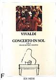 Okładka: Vivaldi Antonio, Concerto In G Major, F.VI, No. 6 (T.138) (Flute / Orchestra / Piano)
