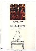 Ok�adka: Porrino Ennio, Concertino (Orchestra / Piano / Trumpet)