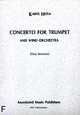 Ok�adka: Husa Karel, Concerto For Trumpet And Wind Orchestra (Orchestra / Piano / Trumpet)