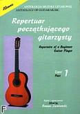 Ok�adka: Ziemla�ski Roman, Repertuar pocz�tkuj�cego gitarzysty cz. 1