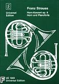 Okładka: Strauss Franz, Koncert c-moll op. 8