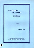 Ok�adka: Ibert Jacques, Concertino da camera