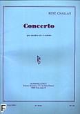 Okładka: Challan René, Concerto