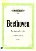 Okładka: Beethoven Ludwig van, Missa solemnis