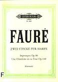 Ok�adka: Faur� Gabriel, Dwa utwory na harf�