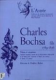 Okładka: Bocchsa Charles, Theme et Variations - Andante amablie z Grande Sonate Es (klarnet B lub skrzypce i harfa)
