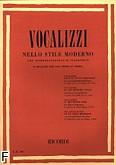 Okładka: Różni, Vocalizzi nello stile moderno (głos średni)