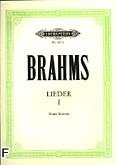 Okładka: Brahms Johannes, Lieder I (głos wysoki)
