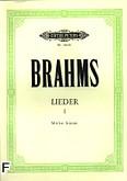 Okładka: Brahms Johannes, Lieder I (głos średni)