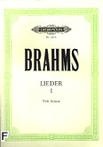 Okładka: Brahms Johannes, Lieder I (głos niski)