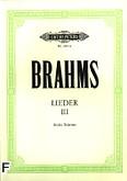 Okładka: Brahms Johannes, Lieder III (głos wysoki)