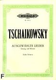 Ok�adka: Czajkowski Piotr, Ausgew�hlte Lieder (g�os wysoki)