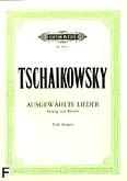 Ok�adka: Czajkowski Piotr, Ausgew�hlte Lieder (g�os niski)