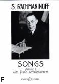 Ok�adka: Rachmaninow Sergiusz, Pie�ni z.2