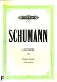 Ok�adka: Schumann Robert, Lieder III
