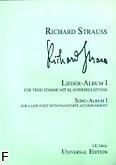 Ok�adka: Strauss Ryszard, Album pie�ni 1 (g�os niski)