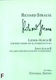 Ok�adka: Strauss Ryszard, Album pie�ni 2 (g�os wysoki)