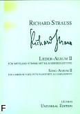 Ok�adka: Strauss Ryszard, Album pie�ni z.2 (g�os �redni)
