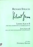 Ok�adka: Strauss Ryszard, Album pie�ni 2 (g�os niski)