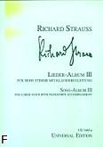 Ok�adka: Strauss Ryszard, Album pie�ni 3 (g�os wysoki)