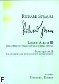 Ok�adka: Strauss Ryszard, Album pie�ni 3 (g�os �redni)