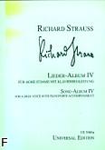 Ok�adka: Strauss Ryszard, Album pie�ni 4 (g�os wysoki)