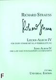 Ok�adka: Strauss Ryszard, Album pie�ni 4 (g�os niski)