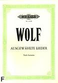 Okładka: Wolf Hugo, Ausgewählte Lieder (głos niski)