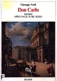 Okładka: Verdi Giuseppe, Don Carlos