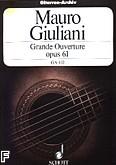 Ok�adka: Giuliani Mauro, Grande Ouverture op. 61