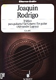 Okładka: Rodrigo Joaquin, Triptico para guitarra