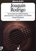 Ok�adka: Rodrigo Joaquin, Un tiempo fue Italica famosa para Guitarra