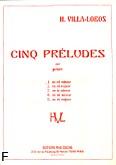 Ok�adka: Villa-Lobos Heitor, Preludium e-moll nr 1