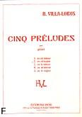 Okładka: Villa-Lobos Heitor, Preludium E-dur nr 2