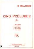Okładka: Villa-Lobos Heitor, Preludium D-dur nr 5