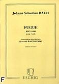 Ok�adka: Bach Johann Sebastian, Fuga BWV1000 na lutni�